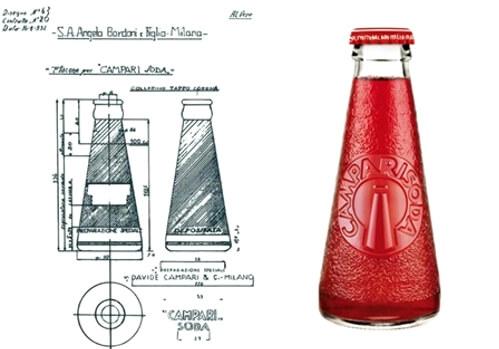 Camparisoda una storia d 39 arte design e packaging for Design italiano